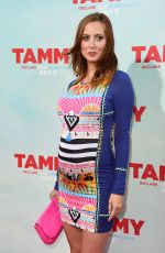 Pregnant EVA AMURRI at Tammy Premiere in Hollywood