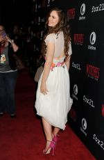 RACHEL BOSTON at Witches of the East End Presentation at Comic-con 2014 in San Diego