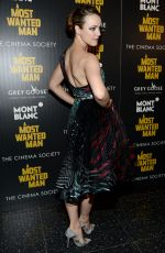 RACHEL MCADAMS at A Most Wanted Man Premiere in New York