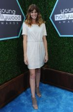 RACHEL MELVIN at Young Hollywood Awards 2014 in Los Angeles