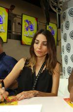 RACHEL RAMRAS at Warner Bros Signing Booth at Comic-con