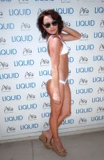 RACHELLE LEAH at UFC Pool Party in Las Vegas