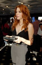 RACHELLE LEFEVRE at Nintendo Lounge at Comic-con 2014 in San Diego