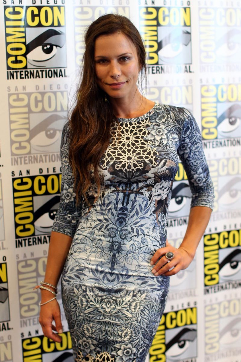 RHONA MITRA at The Last Ship Presentation at Comic-con 2014 in San Diego