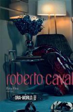 RITA ORA - Roberto Cavalli 2014/20115 Campaign