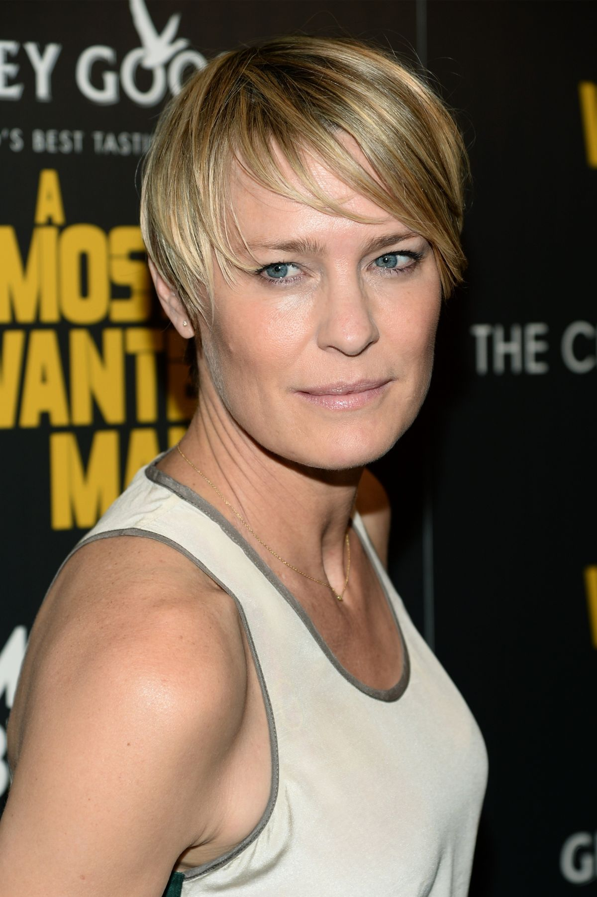 ROBIN WRIGHT at A Most Wanted Man Premiere in New York