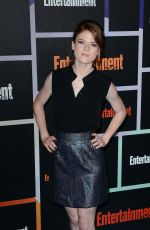 ROSE LESLIE at Entertainment Weekly's Comic-con Celebration