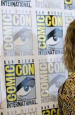 ROSE MCIVER at Izombie Panel at Comic-con in San Diego