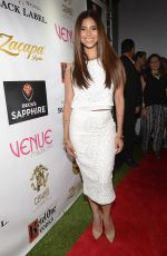 ROSELYN SANCHEZ at Venue Magazine July/August Cover Party in Miami