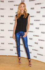ROSIE HUNTINGTON-WHITELEY at Paige Shop Launch at Selfridges in London