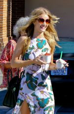 ROSIE HUNTINGTON-WHITELEZ Out and About in Malibu