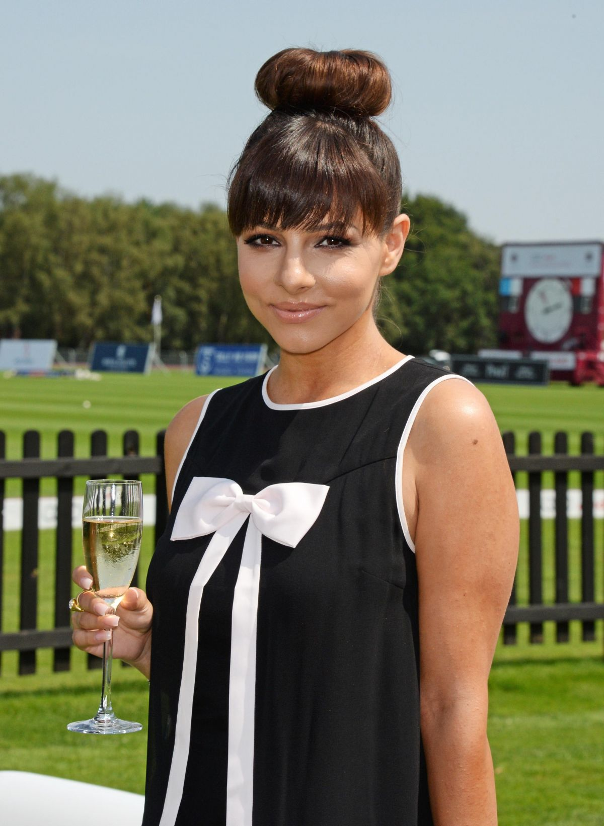 ROXANNE PALLETT at Audi International at Guards Polo Club in London