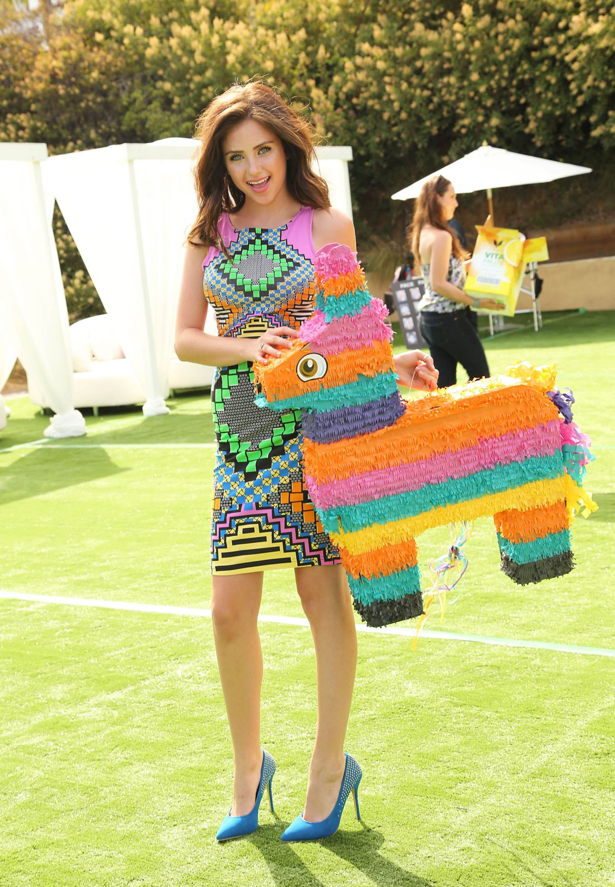 RYAN NEWMAN at 2014 Just Jared Summer Fiesta in West ...  Ryan Whitney Newman 2014