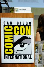 SALMA HAYEK at Everly Panel at Comic-con in San Diego