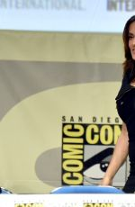 SALMA HAYEK at Horns and Everly Panel at Comic-con in San Diego