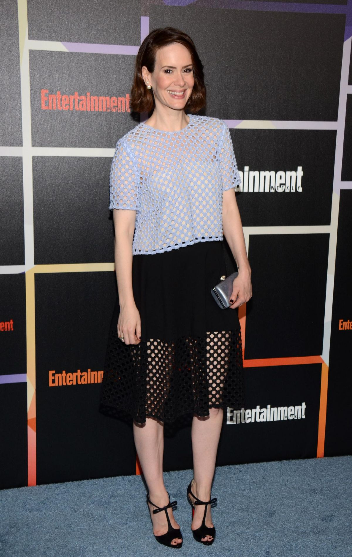 SARAH PAULSON at Entertainment Weekly's Comic-con Celebration