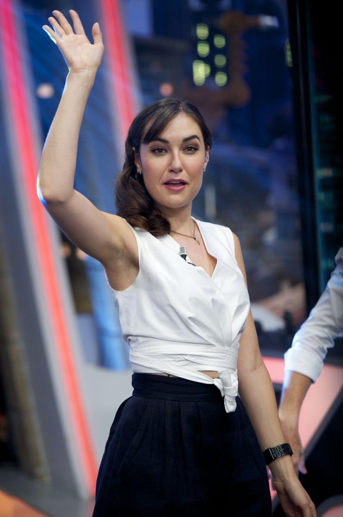SASHA GREY at El Hormiguero TV Show