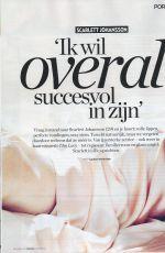 SCARLETT JOHANSSON in Veronica Magazine Issue 28th