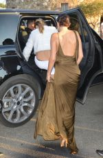 SELENA GOMEZ and CARA DELEVINGNE Heading to a Party in St. Tropez