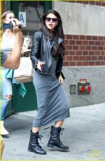 SELENA GOMEZ Arrives at Chipotle Mexican Grill in New York