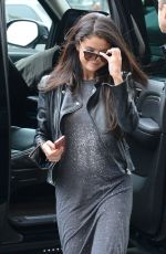 SELENA GOMEZ Arrives at Her Hotel in New York