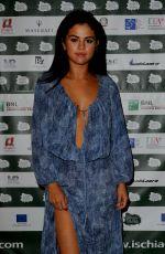 SELENA GOMEZ at Ischia Global Film and Music Festival