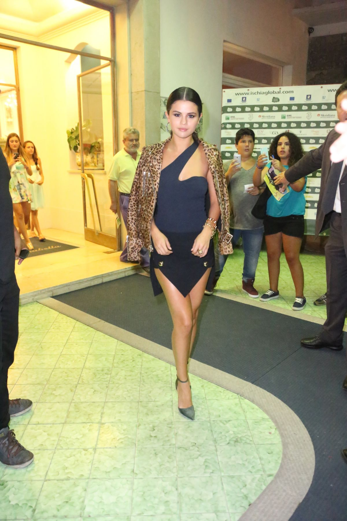 SELENA GOMEZ at Rudderless Premiere in Ischia