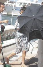 SELENA GOMEZ in Swimsuit on a Boat in St Tropez