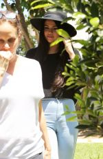 SELENA GOMEZ Leaves Friend