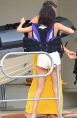 SELENA GOMEZ on a Yacht in St. Tropez