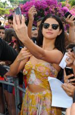SELENA GOMEZ Out and About in Ischia