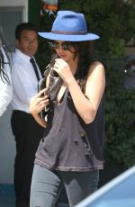 SELENA GOMEZ Out and About in Los Angeles 2607