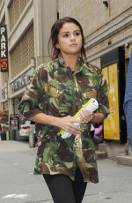 SELENA GOMEZ Out and About in New York