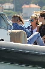 SELENA GOMEZ Out and About in Saint-Tropez