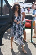 SELENA GOMEZ Out and About in St Tropez