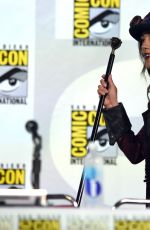 SEYCHELLE GABRIEL at Legend of Korra Panel at Comic-con in San Diego