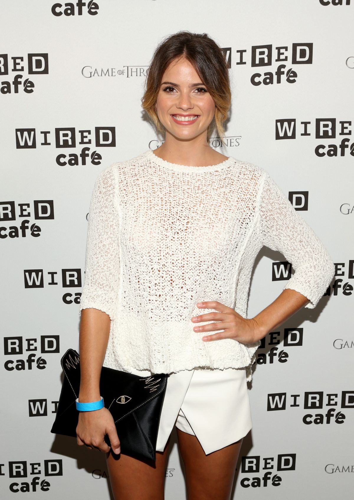 SHELLEY HENNIG at Wired Cafe at Comic-con 2014 in San Diego
