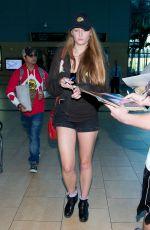 SOPHIE TURNER Arrives at Airport in San Diego