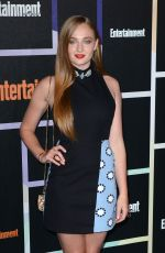 SOPHIE TURNER at Entertainment Weekly's Comic-con Celebration
