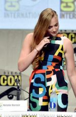 SOPHIE TURNER at Game of Thrones Panel at Comic-con in San Diego