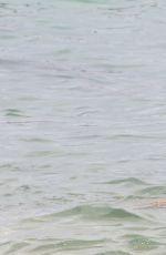 SYLVIE VAN DER VAART in Bikini at a Beach in Saint-tropez