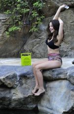TAMMIN SURSOK in Bikini at a Pool in Los Angeles