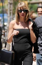 TAYLOR SWIFT Out in New York