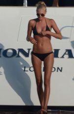 TONI GARRN in Bikini at a Yacht in Ibiza
