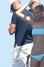 TONI GARRN in Bikini at a Yacht in St. Tropez