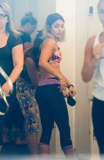VANESSA HUDGENS at a Gym in Los Angeles