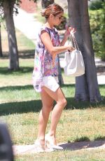 VANESSA HUDGENS Heading to a Friend in West Hollywood