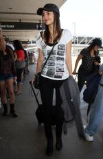 VICTORIA JUSTICE at LAX Airport inLs Angeles