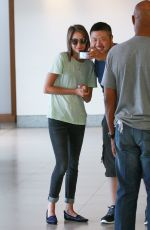 WILLA HOLLAND Arrives at Comic-con 2014 in San Diego