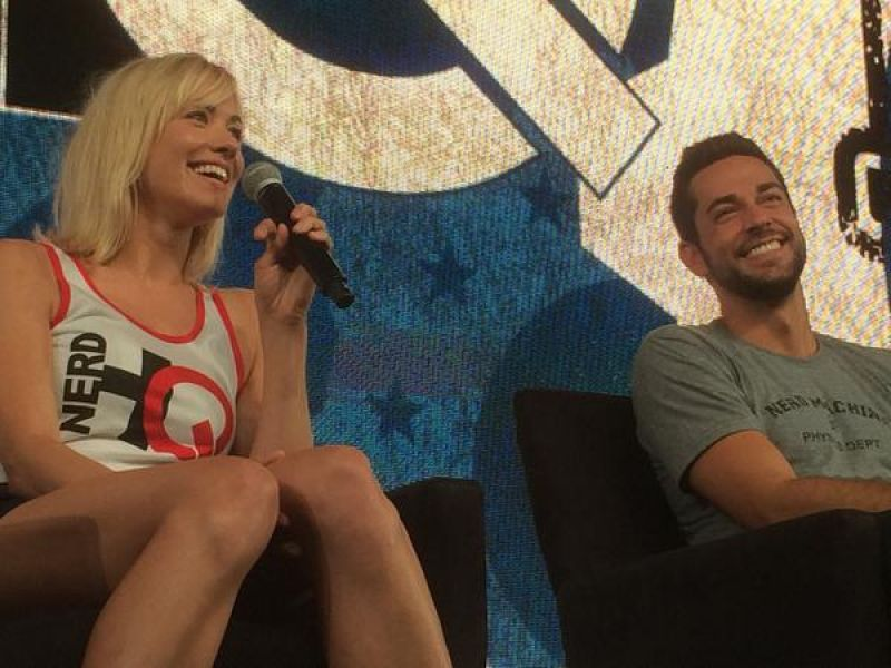 YONNE STRAHOVSKI at Nerd HG Panel at Comic-con 2014 in San Diego